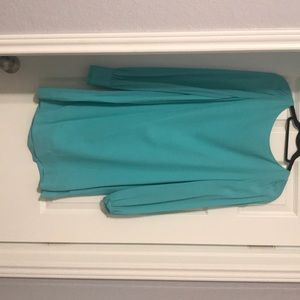 Long sleeve shift dress! Worn once for a wedding